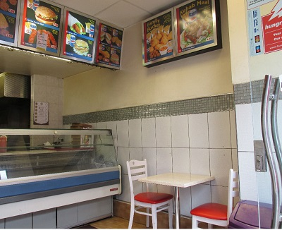 Well located premises of lease for sale currently trading as fast food Fried Chicken , Pizza.