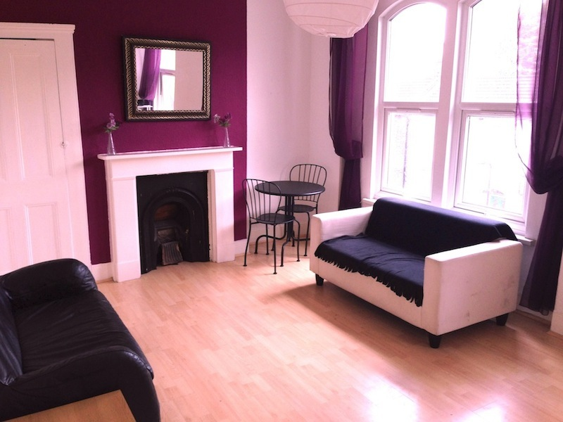 1 bed Victorian conversation flat available now including all bills